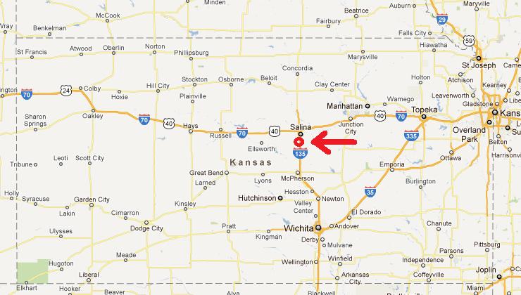 Apr Salina KS - Salinas ks us map